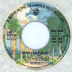 B-Side Label of Canadian Single