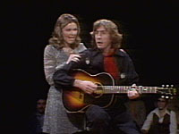 Eric Idle and Jane Curtain on NBCs Saturday Night
